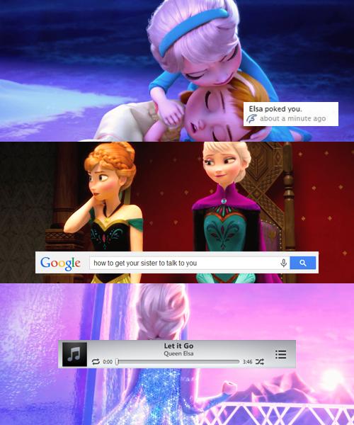 Funny Elsa