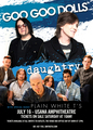 GGD-DAUGHTRY-PLAINE WHITE -SUMMER TOUR 2014