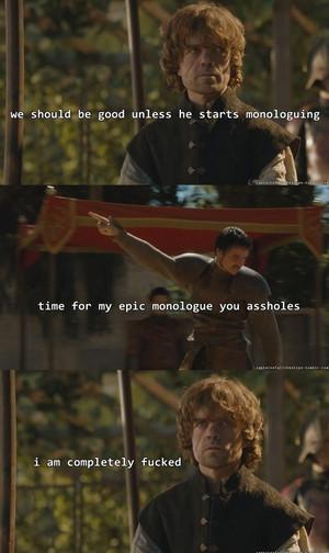 Tyrion Lannister & Oberyn Martell
