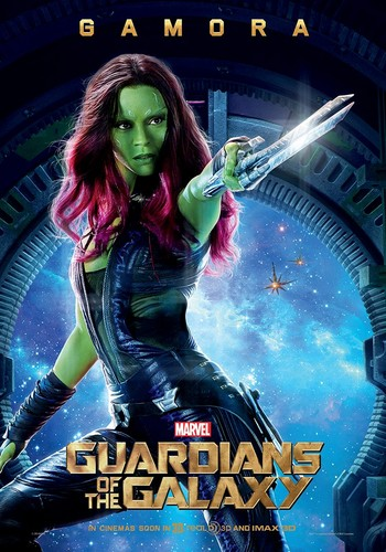 Guardians of the Galaxy 바탕화면 titled Gamora~ Guardians Of The Galaxy