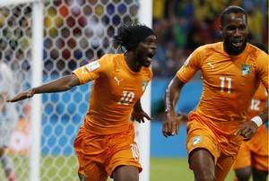 Gervinho and Drogba WC 2014
