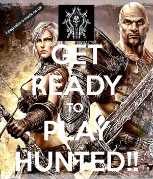Get Ready to Play Hunted!