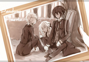 Gilbert, Elliot and Vincent Nightray