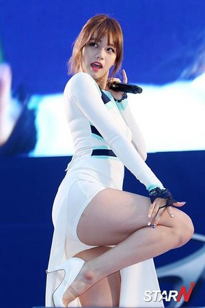 Girls' Day Hyeri World Cup Cheering Event