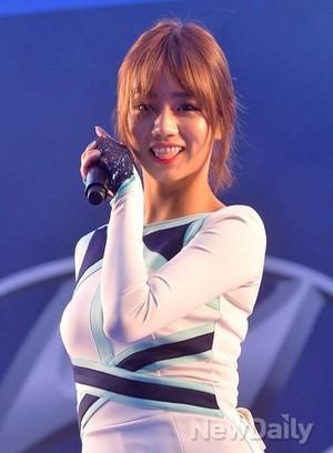 Girls' Day Hyeri World Cup Cheering Event