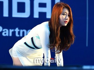 Girls' Day Yura World Cup Cheering Event