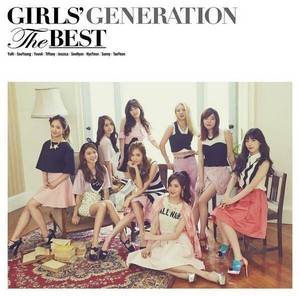 Girls Generation 'THE BEST' Album Cover