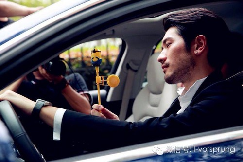 Godfrey Gao wallpaper with an automobile called Godfrey for AUDI Vorsprung