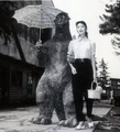 Godzilla goes on date? - godzilla photo
