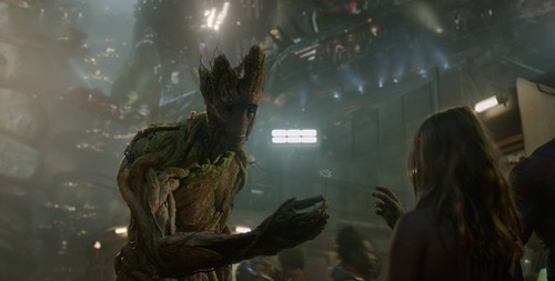 Guardians of the Galaxy 바탕화면 probably containing an alligator snapping 터틀, 거북 called Groot~ Guardians Of The Galaxy