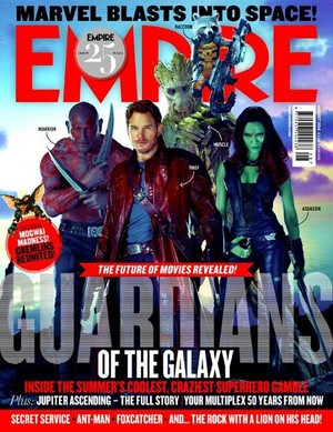 Guardians Of The Galaxy Empire Magazine Cover
