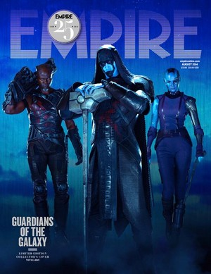 Guardians of the Galaxy - Empire Magazine Cover