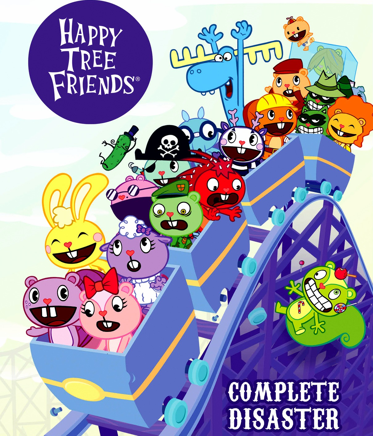 Happy Tree Friends Images Htf New Official Cover Hd Wallpaper And