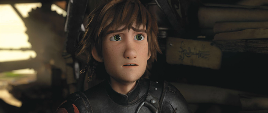 how to train your dragon 1 hiccup