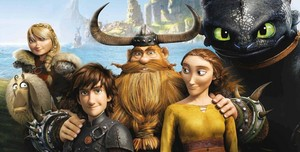 HTTYD 2 poster - close up