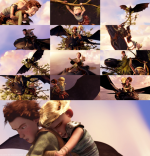 HTTYD - Astrid goes for a spin