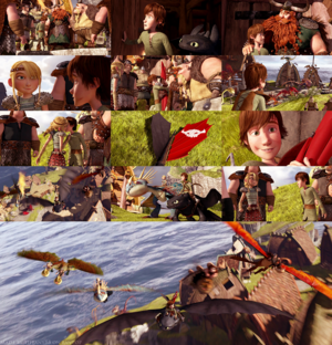 HTTYD - Coming around Back