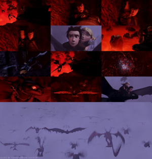 HTTYD - Dragon's guarida, den