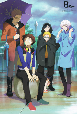 Hamatora official art