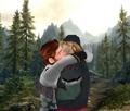 Hans and Kristoff Kiss - yaoi photo