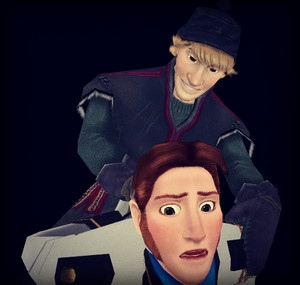 Hans and Kristoff xD