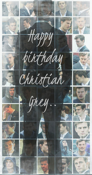 Happy Bday Christian Grey