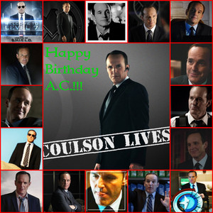 Happy Birthday Agent Coulson!