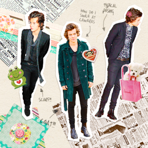 Harry   Collage Book