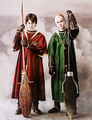 Harry and Draco  - harry-potter photo