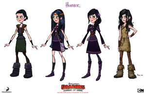Heather Concept Art
