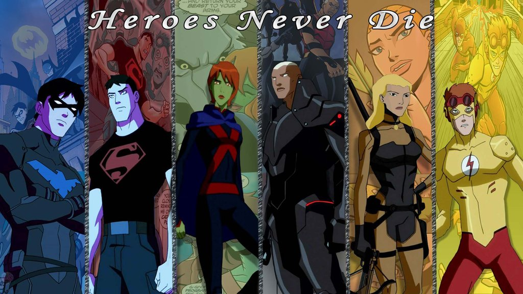Young Justice Heroes N... Young Justice Flash Family