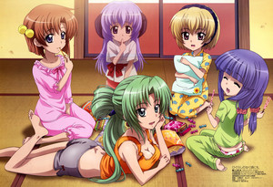 Higurashi People Hanging Out