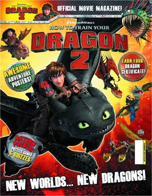 How To Train Your Dragon 2 Official Magazine