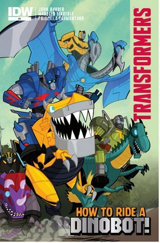 transformers wallpaper containing anime titled How to Ride a Dinobot Cover!