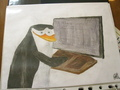 I don't watch your ever move - penguins-of-madagascar fan art