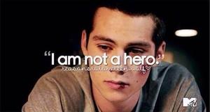 I'm no hero. Lies