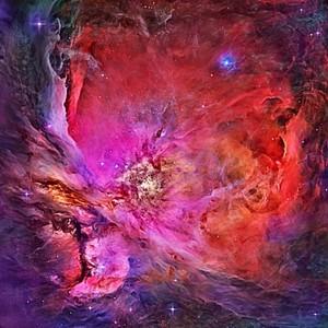 INSIDE AN ORION NEBULA