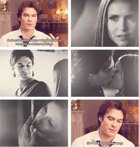 Stelena vs Delena پیپر وال possibly with a portrait called Ian on Delena