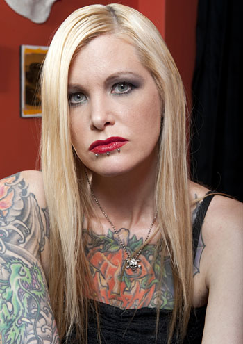 Ink Master wallpaper probably containing a portrait called Ink Master | Season 1 | Heather Sinn