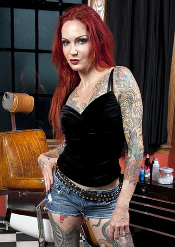Ink Master wallpaper possibly containing a hip boot and a sign titled Ink Master | Season 1 | Lea Vendetta