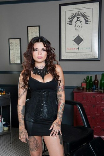 Ink Master wallpaper containing tights and a leotard entitled Ink Master | Season 2 | Tatu Baby