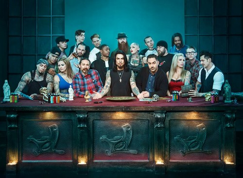 Ink Master wallpaper containing a dressing mesa, tabela entitled Ink Master | Season 3
