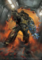 Iron Hands Terminator - warhammer-40k photo