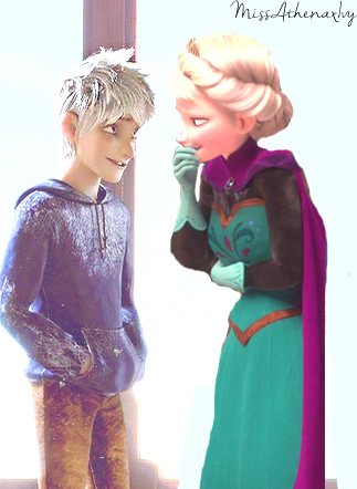 disney crossover achtergrond probably containing an outerwear, a hip boot, and a blouse entitled Jack Frost is Nipping at Her Nose