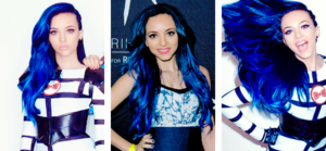 Jade Blue hair