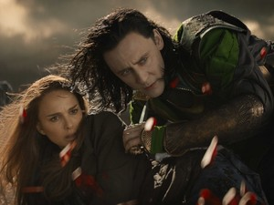 Jane and Loki,Thor:The Dark World