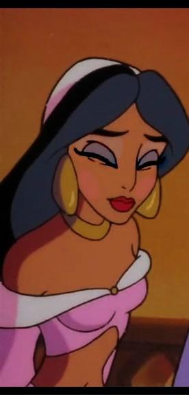 Jasmine's praise look