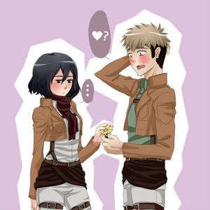 Jean x Mikasa
