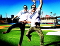 Jesse Lee Soffer and Patrick Flueger