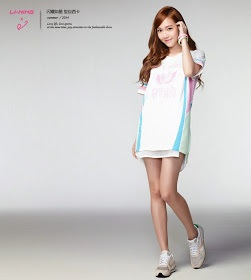 Jessica for Li-Ning Summer 2014